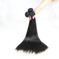 3 pcs/lot, 12 14 16, 6a virgin human hair brazilain straight hair