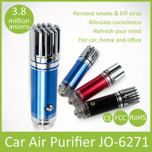 2014 Hot Selling Custom Car Air Fresheners JO-6271 Car Air Purifier Car Interior Accessories