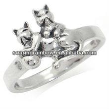sterling ring animal design