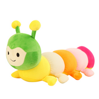 Colorful stuffed soft insect toys wholesale toys