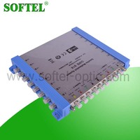 China supplier 9 in 16 output 6 receiver DiSEqC 2.0 satellite multiswitch