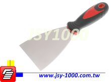 Taiwan 4inch Durable Stainless Steel Board Cushion Handle Putty Knife