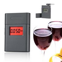 New alcohol products- digital breath alcohol tester AT-838 with clock and 360 degree rotating mouthpiece