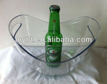 China money ice bucket, gold coin ice bucket, hot sell silver coin wine bucket