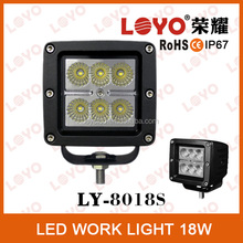 truck parts for sale led work light for jeep/motorcycle/boat/trucks/atv/suv 18w fishing boat led work light