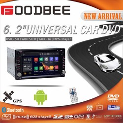 6.2 Inch Android Car DVD Player with 3G WI-FI / GPS / BT /TV /ISDB-T TV
