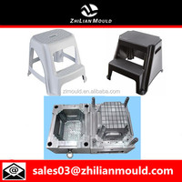 Plastic step stool mould making in huangyan