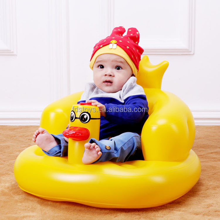 Custom Cheap Plastic Inflatable Baby Bath Chair - Buy Inflatable ...