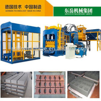 QT10-15 Automatic hollow block making machine canton fair