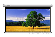 Pull down Manual projector screen by hand , Matte white ,best quality, low price