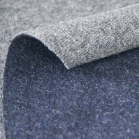 Double faced knitted wool fabric for women suit and overcoat HYL-15041WM