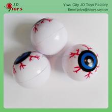 Eyes plastic bouncing balls, plastic hollow ball