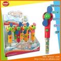 venda quente estilo de futebol brinquedosdeplástico com doces do brinquedo mini ventilador
