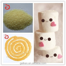 2015 New product Halal Gelatin Animal Bone Gluefood Gelatin Powder For Candy