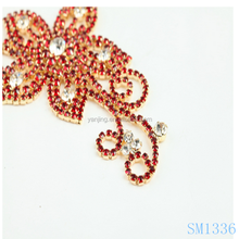 wholesale 2014 red rhinestone Clothing accessories