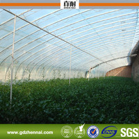 100% Bayer polycarbonate UV coated greenhouse roofing material/small greenhouse plastic