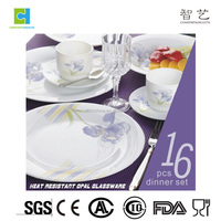 High quality heat resistant opal ware