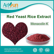 Red Yeast Rice Extract Monacolin K Powder 3%/Monacolin K 3%