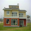 Luxury Light Steel Prefabricated Villa in Garner Project with good quality