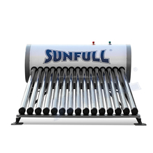OEM Widely Used Painted Steel Solar Water Heater