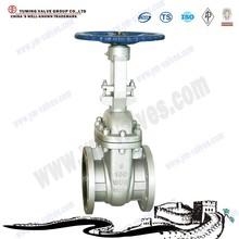 6 inch Cast steel handwheel rising stem flange Gate Valve