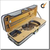 High Quality Light Oblong Foamed Violin Case (CSV071-A)