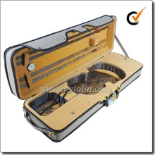 High Quality Light Oblong Foamed Violin Case (CSV071-A)