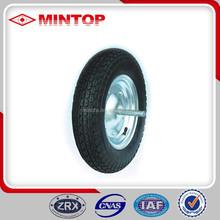 Free sample China rubber wheelbarrow tyre
