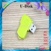 Customized twister 8gb usb flash drive with free logo printing