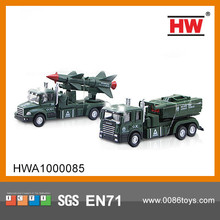 New Design 1:60 Diecast toy free wheel car military diecast models