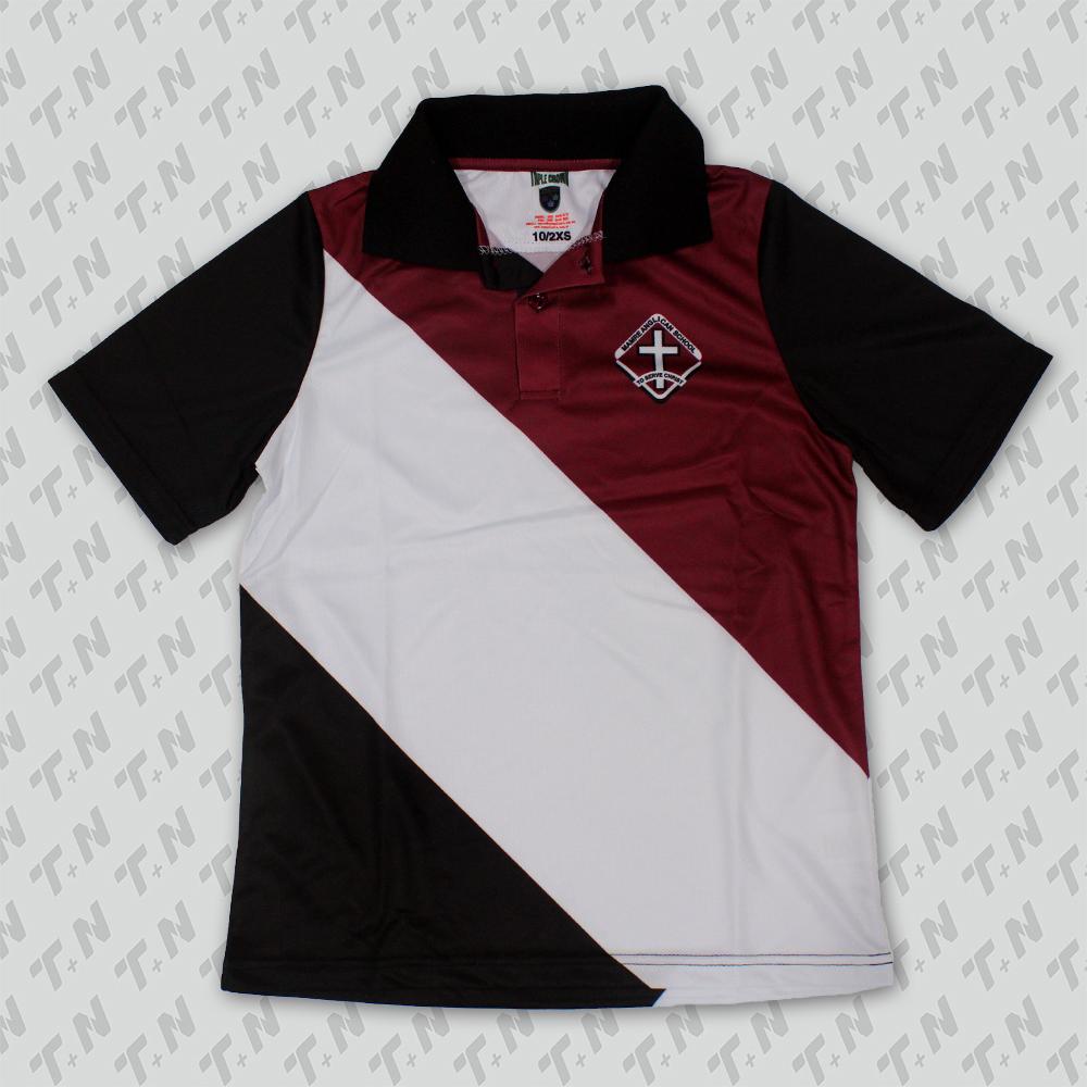 Custom T Shirt Printing Promotional Custom Logo Polo Shirt