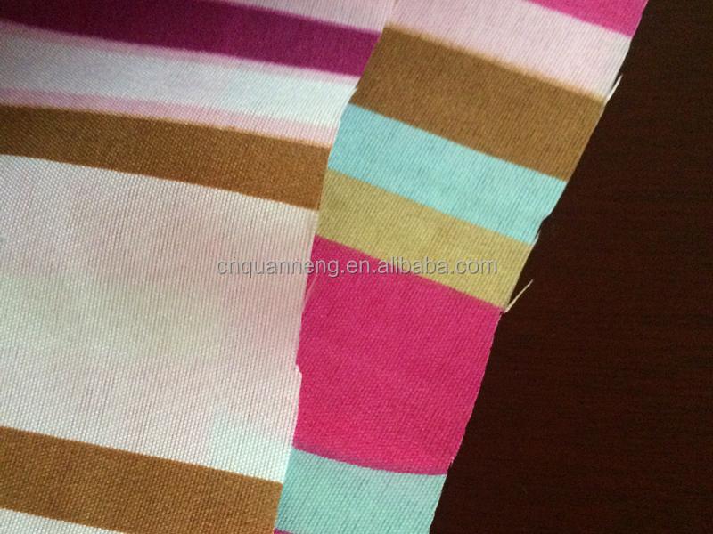 Pas cher rayures tissu polyester tissu imprim tissus for Tissu pour canape pas cher
