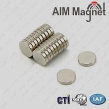 N48 Best Service Nickel Plating magnet for Lock
