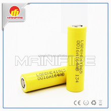 New products 2015 LG he4 18650 battery, LG he4 3.7v rechargeable battery vaporizer