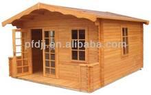 sólido de madera de pino de madera pequeña diseño de la casa