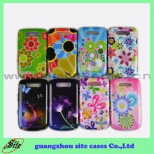 Combo Cellphone Case for Blackberry 9800 Cover , Mobile Phone Accessories for Blackberry 9800 Cover