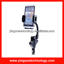 Dual USB Universal Cigarette Lighter Car Charger Holder Mount for iPhone Samsung Galaxy Note