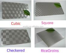 201/430/304 stainless sheet steel/metal embossed sheet stainless steel