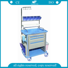 AG-NT003A1 With infusion hooks hospital nursing tool cart