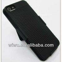 hard case cover+belt clip holster for iphone5 5G