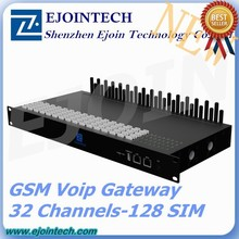 32 port gsm voip gateway with gsm sim bank, bulk sms sending device, online payment gateway