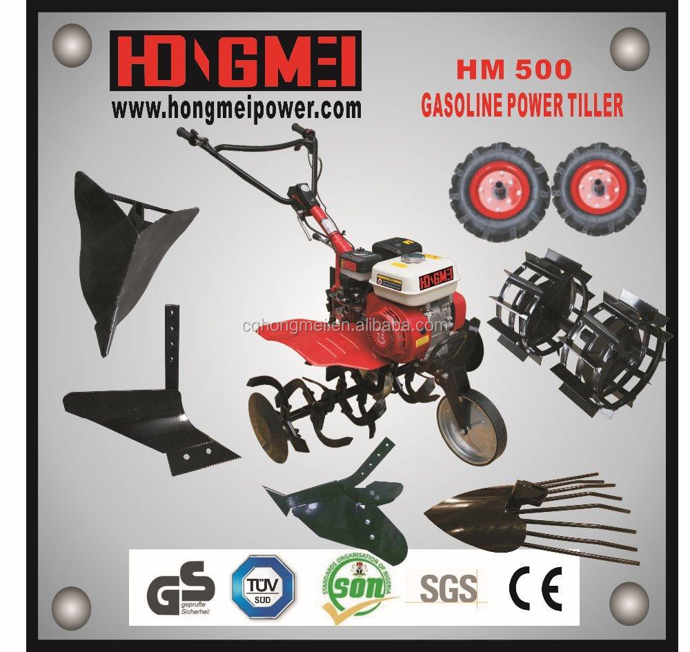 2015 뜨거운 판매! 모터 괭이/ 가솔린 경운기 hm500/ ce/ 파워 경운기/ 경운기