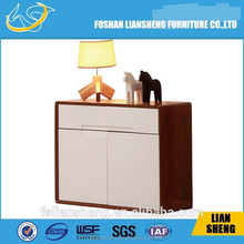 Wooden brown living room cabinet, wooden cupboard, wooden storage cabinet C002-M3-1