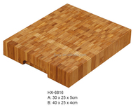 High Quality Bamboo Thick Chopping Board, bamboo switch board cutting machine, Bambu Cutting Board with Handle