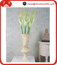 Large PU calla lily artificial flower making wholesale