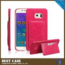 PU Flip Cover Case For Samsung Galaxy S6 Edge Plus Gils Case
