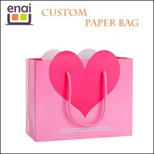 Eco Friendly Reusable Tyvek Paper Shopping Bag with Handle for Christmas