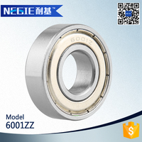 China supplier Cixi Negie factory manufacturer high speed precision cheap good quality motorcycles bearing 6001zz