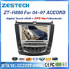 ZESTECH factory price car gps For Honda Accord 7 car DVD player with rearview camera Bluetooth Phonebook SWC