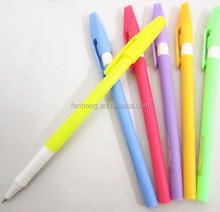 colourful ballpoint pen ,promotion ball pen ,bothside hole pen